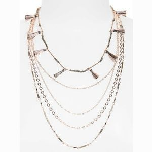 Rebecca Minkoff Layered Necklace with Tassels
